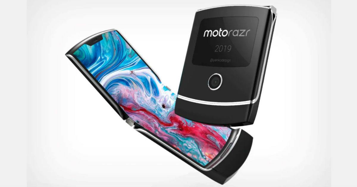 Here are the specifications of the Motorola foldable smartphone